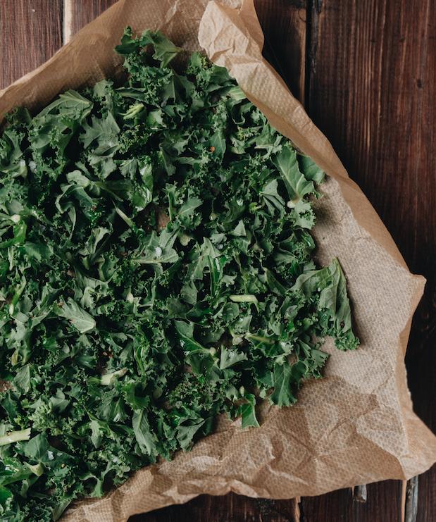 snack de kale